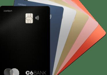 C6 Bank Cartões, linha de crédito e outros serviços